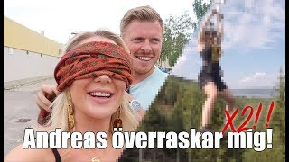 Andreas överraskar mig i Bollnäs!