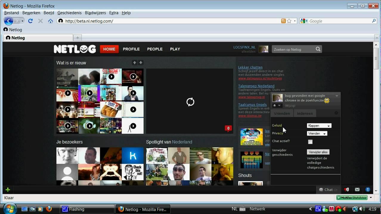 Netlog chat - YouTube