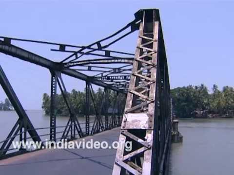Moidu bridge and Dharmadam island
