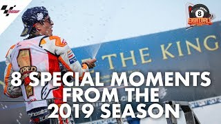 8 special moments from Márc Marquez' 2019 season #8ball