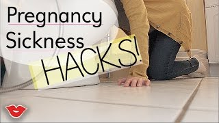 Pregnancy Sickness Hacks | Jaimie from Millennial Moms