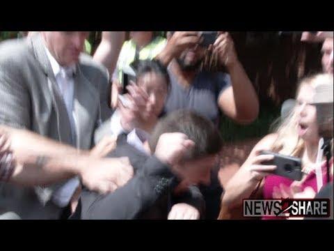 Jason Kessler attacked as he begins press conference