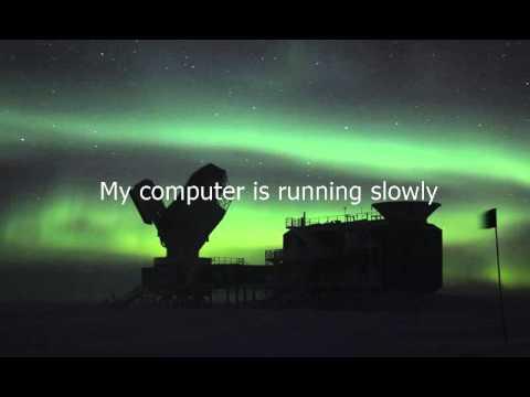 Como se dice Mi Computadora Esta Funcionando Despacio en Ingles