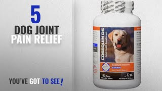 Top 5 Dog Joint Pain Relief [2018 Best Sellers]: Nutramax Cosequin DS Plus with MSM Chewable