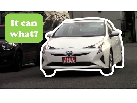 2017 Prius Intelligent Parking Part 1 Toyota On Front