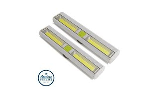 Promier Cordless LED Light Bar 2pack