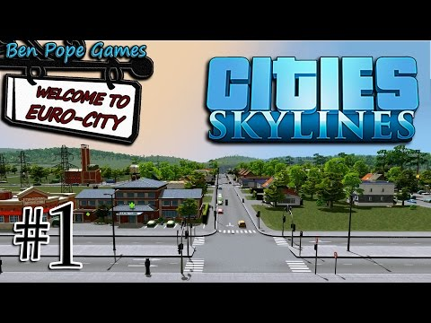 Cities: Skylines - (European Themed City) - #1 Name This City