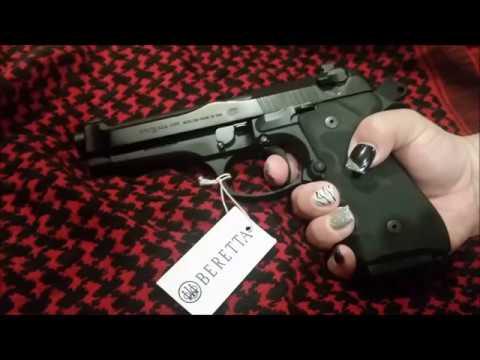 """Unboxing Beretta 92FS Brigadier 9MM 5"""" Barrel Blue"""