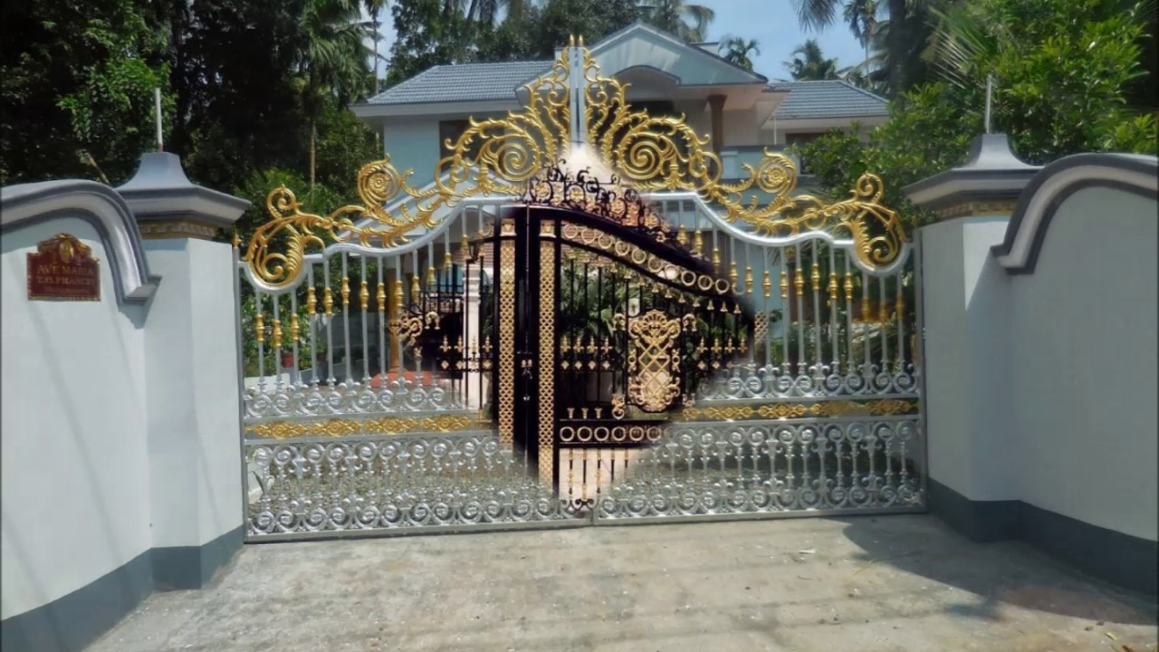 Different Kinds Of House Gates Designs Youtube