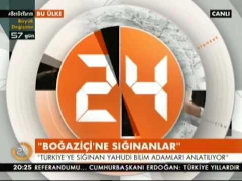 KÜLTÜR VE TURİZM BAKANI NABİ AVCI KANAL 24 TV CANLI YAYIN KONUĞU OLDU