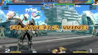 拳皇實戰★The King Of Fighters KOF14★ザ・キング・オブ・ファイターズ★China VS Japan★2017★小孩 VS KOJIKOG