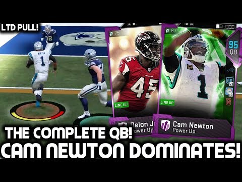 CAM NEWTON IS UNSTOPPABLE! JARVIS LANDRY BREAKING ANKLES! Madden 19 Ultimate Team