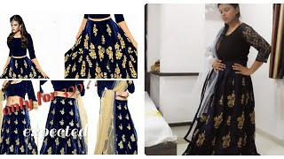 Amazon lehnga at 399|Best affordable lehnga at Amazon|online shopping review|lehnga at Amazon.in