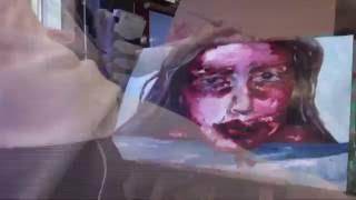 OD 2 - Jenny Saville Speed Painting Copy/Study AS A2 Art Coursework Inspiration