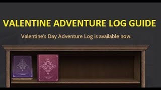 [GUIDE] Valentines Day Adventure Log