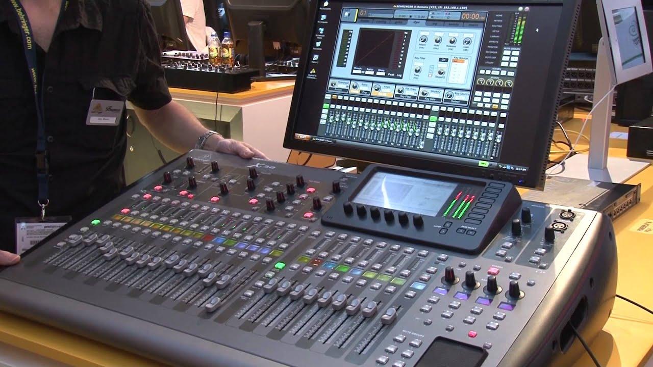 Musikmesse 2012 Frankfurt Behringer X32 Digitalmixer