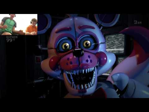ALEX AND GABRIEL PLAY FIVE NIGHTS AT FREDDY'S: SISTER LOCATION custom night