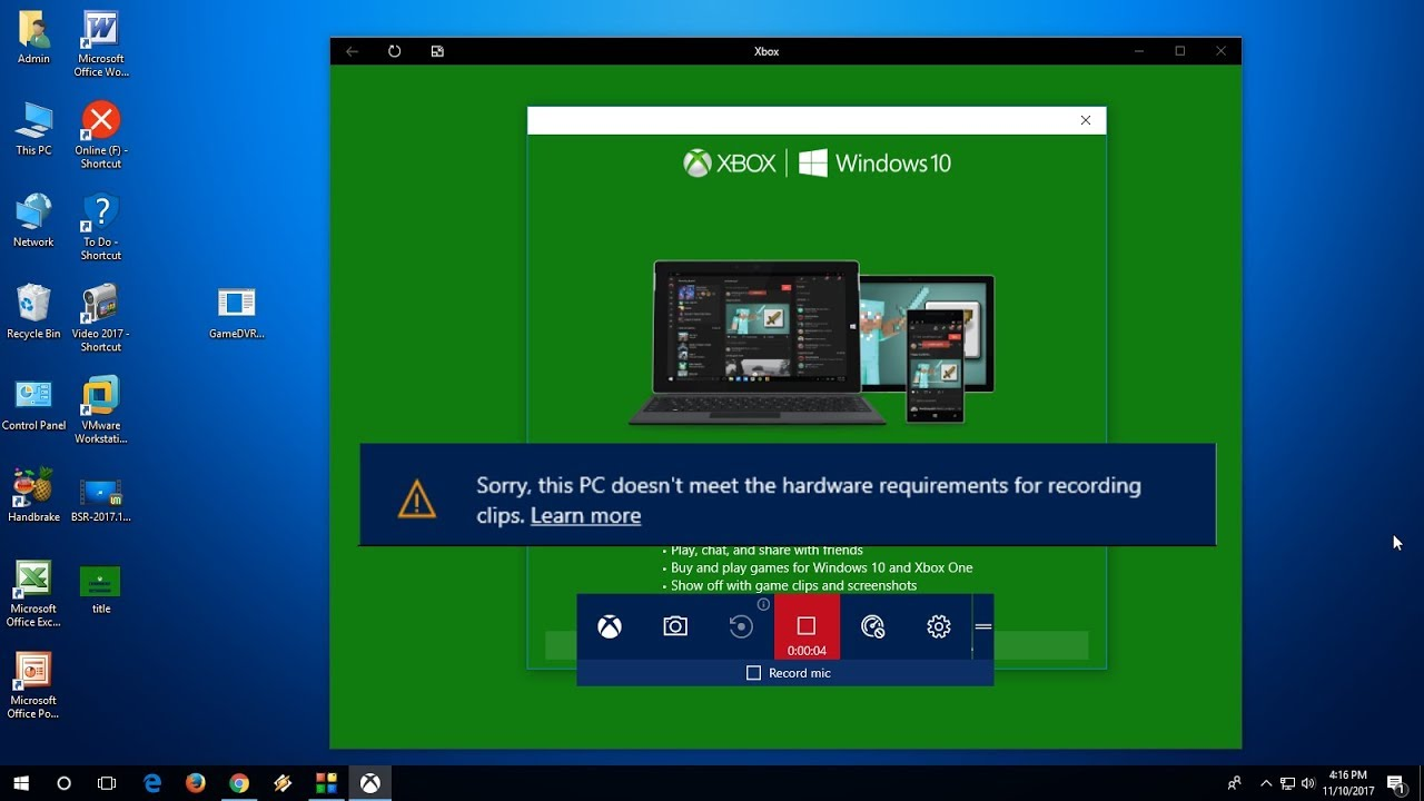 How to Fix Windows 10 Game Bar Not Recording Errors (100% Works)