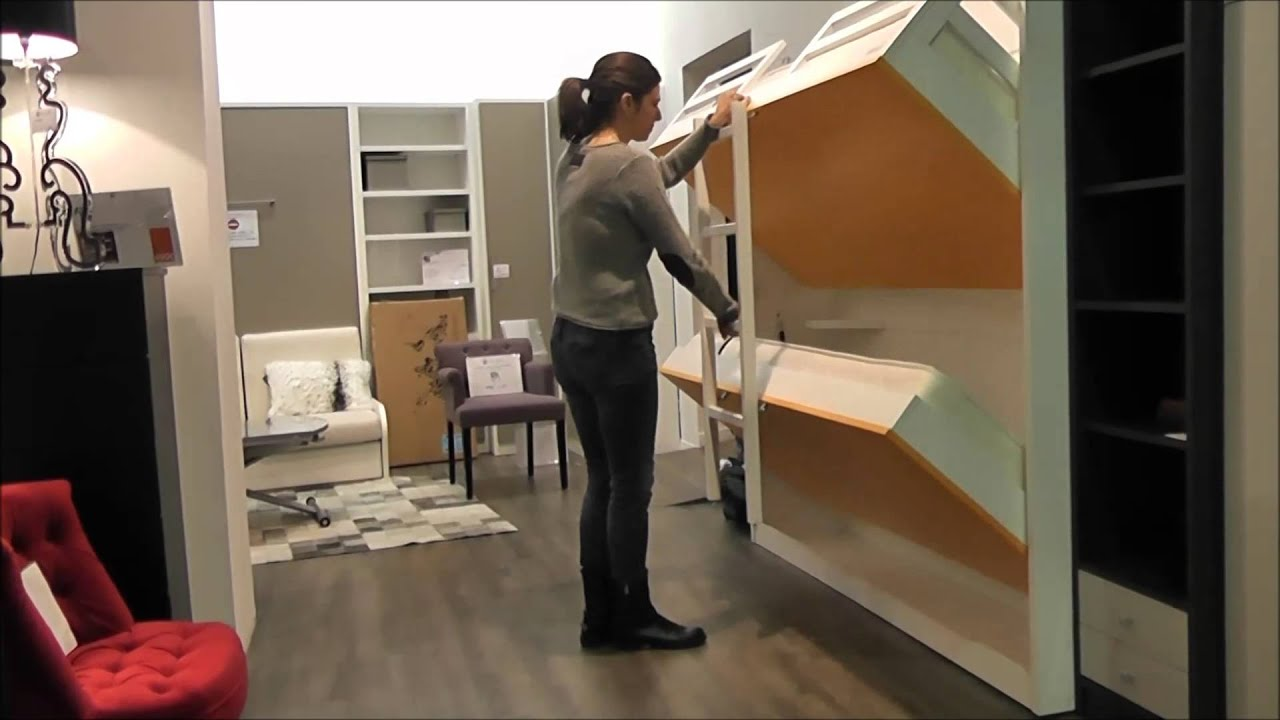 armoire lits superpos s jacquelin youtube. Black Bedroom Furniture Sets. Home Design Ideas