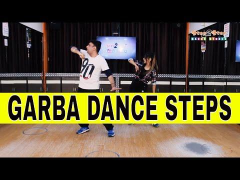 Easy Garba Steps For Beginners   Learn Navratri Garba Dance   Garba Video   Step2Step Dance Studio