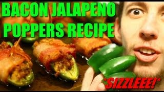 The Best Bacon Jalapeno Poppers!