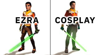Ezra Bridger Season 3 & 4 COSPLAY full costume Overview of Star Wars Rebels