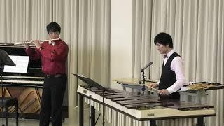 【ドラゴンクエスト】「おおぞらをとぶ」をマリンバとフルートで演奏しました / DRAGON QUEST 「Heavenly Flight」【Marimba & Flute】 (音の和コンサートより)