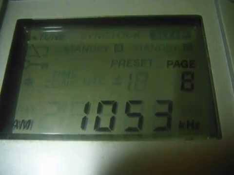 Radio Mariya & CBC Chubu Nippon Noso 1053 kHz