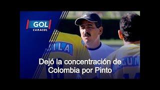 """""""Tuve una discusión con Jorge Luis Pinto y me fui de la concentración de la Selección Colombia"""""""