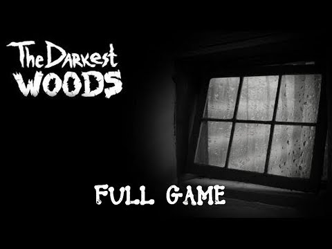 "The Darkest Woods Full Game & ENDING Walkthrough Gameplay ""Horror Game"""