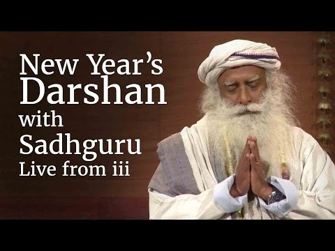 New Year's Darshan with Sadhguru - Live from iii