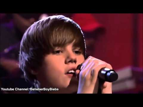 Justin Bieber   U Smile   Live 2010   High Definition