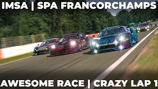 What a great race - Lap 1 was crazy | Porsche RSR @ Spa Francorchamps | iRacing