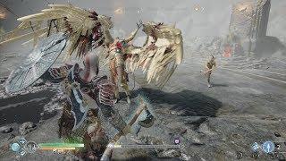 【PS4】GOD OF WAR IV - #64B BOSS Valkyrie Queen Sigrun(No Damage/No Spartan Rage/God Of War Mode)
