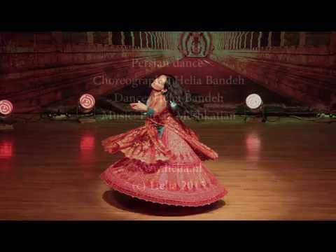 """Bidad"" Persian Classical dance Helia Bandeh بیداد رقص کلاسیک ایرانی هلیا بنده , پرویز مشکاتیان"