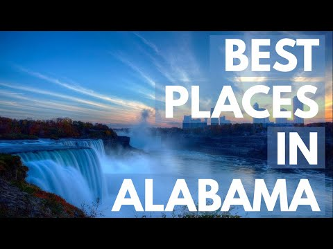 10 Best Travel Destinations in Alabama USA