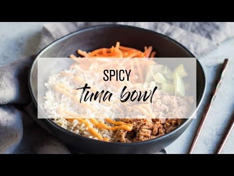 5 Ingredient Spicy Tuna Bowl Recipe