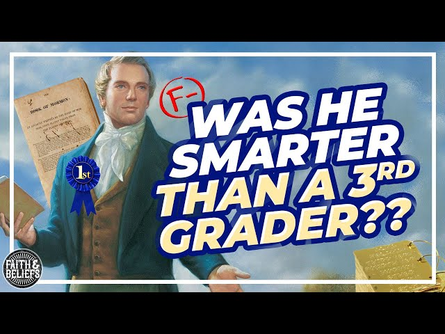 How educated was Joseph Smith?