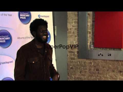 Michael Kiwanuka at Barclaycard Mercury Music Prize 2012 ...