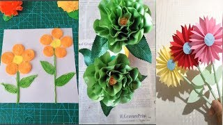 The idea of making flowers with everything | Craft Tips 2018