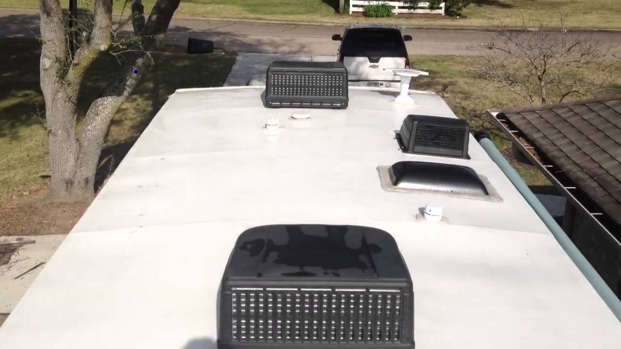 Rv Roof Inspection And Cleaning On My Open Range Rt310bhs