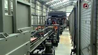 Автоматзированная линия производства поддонов CAPE | WOODWORKING MACHINERY(Автоматическая линия для производства поддонов CAPE. Линия производства поддонов с варьированным штампом...., 2014-08-26T10:05:36.000Z)