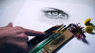 Drawing Tutorial: Supplies, Tools & Graphite Powder Use