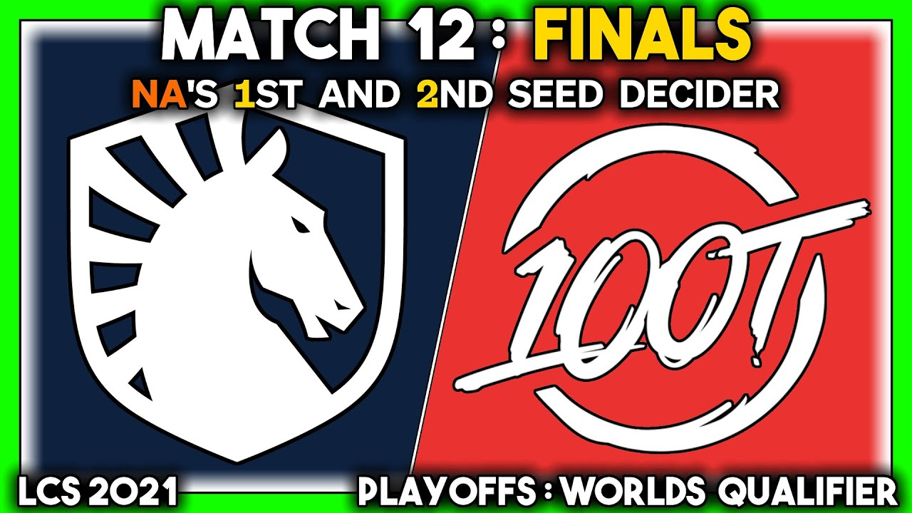 Download THE TRIUMPH (LCS 2021 CoStreams | Playoffs: Worlds Qualifier | Match 12: TL vs 100 | GRAND FINALS)