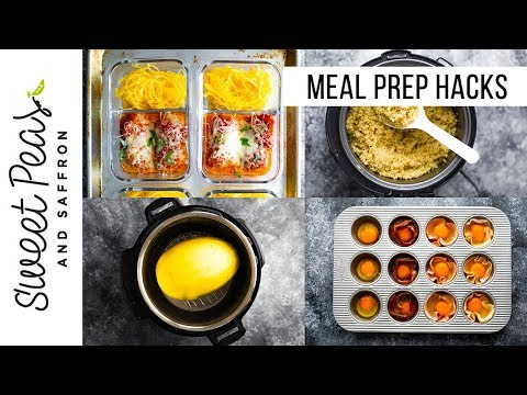 Meal Prep Hacks for Efficiency | Time & Sanity Saving Tips, Recipes