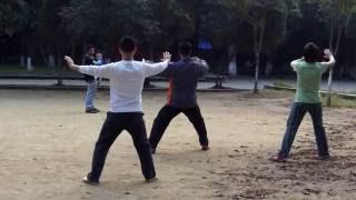 Уроки тайчи, 18 движений