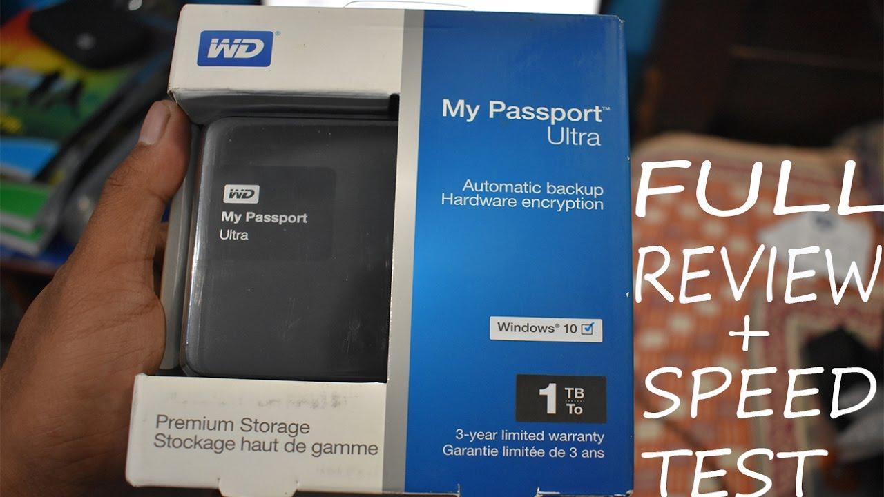 WD My Passport Ultra Full Review || WD My Passport Ultra 1TB ||