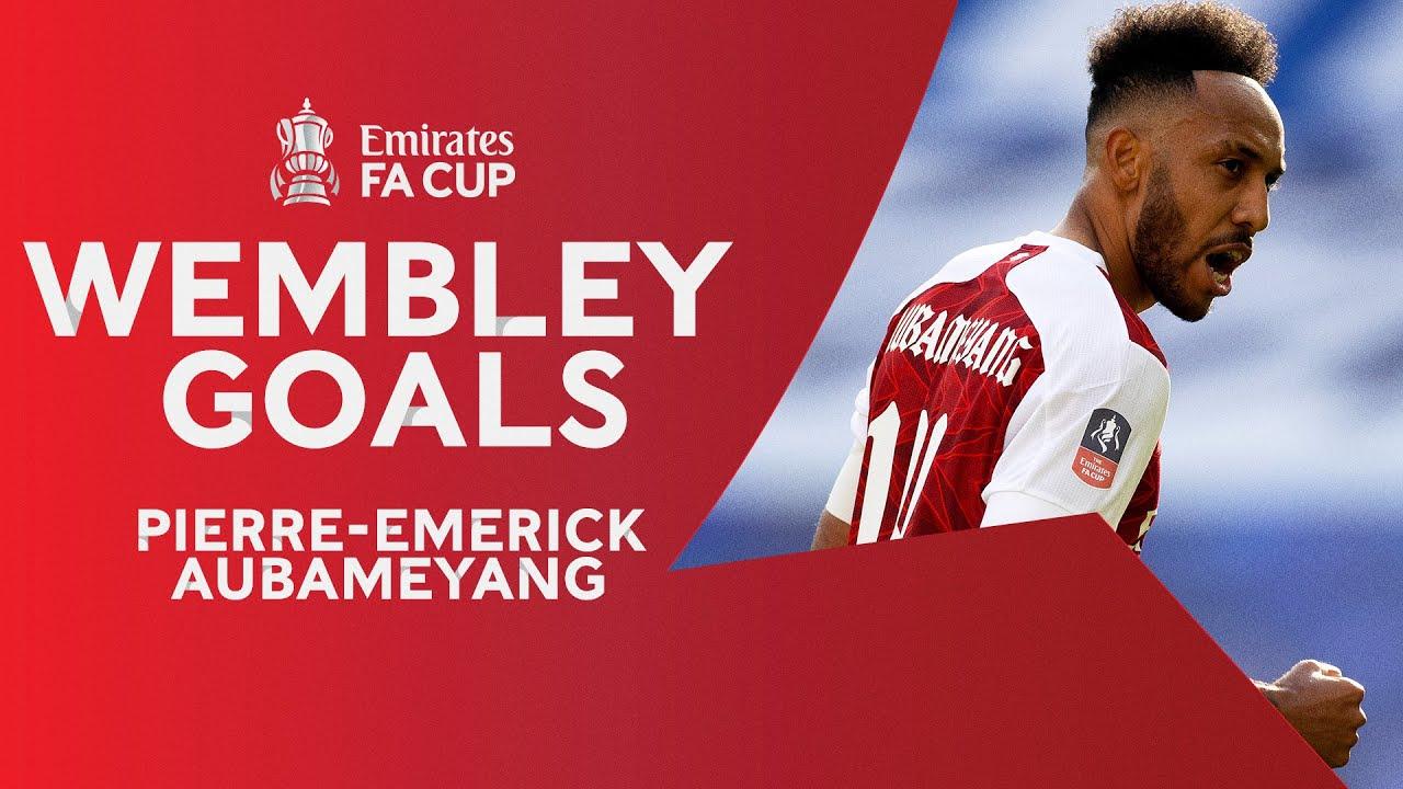 Aubameyang + Wembley = Goals ⚽️  5 Goals in Last 3 Games | Emirates FA Cup