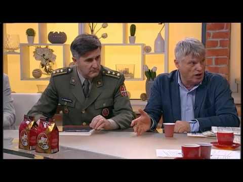 Miroslav Lazanski i bitka za Kosare - Dobro jutro Srbijo - (TV Happy 23.01.2018)