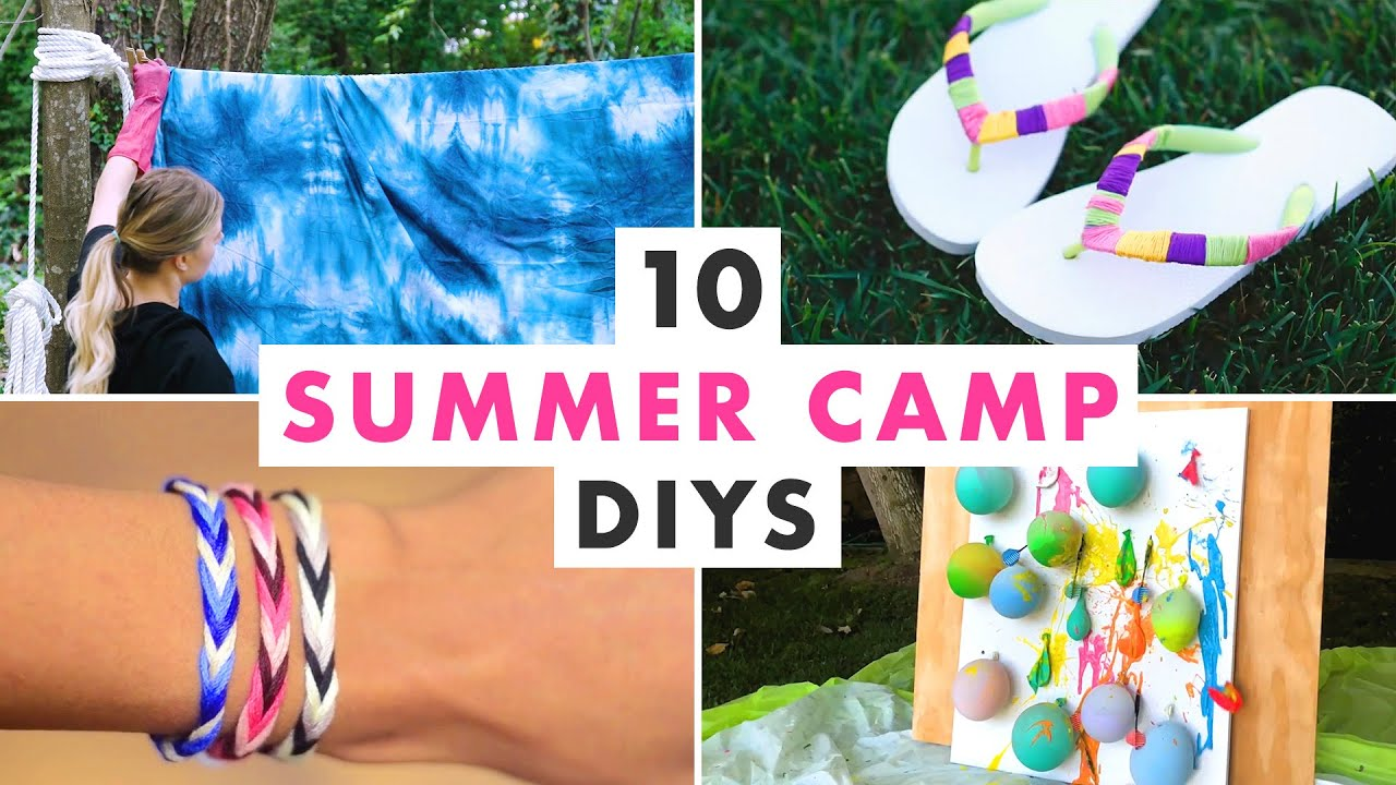10 Classic Summer Camp Craft Projects - HGTV Handmade